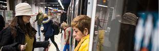 Servicios mínimos del 61 por ciento en una nueva jornada de paros en Metro