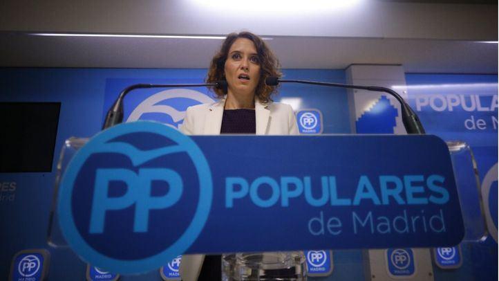 Isabel Díaz Ayuso estará presente en la presentación de los candidatos.