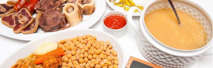 Cocido del restaurante La Clave