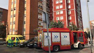 Herido grave tras incendiarse su casa en Fuenlabrada