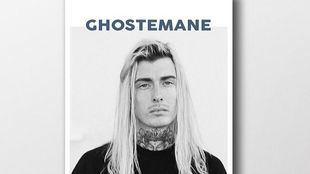 Cartel de la actuación del rapero Ghostemane.