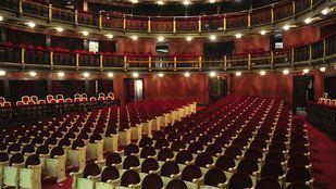 Foto de archivo del patio de butacas del Teatro Español.
