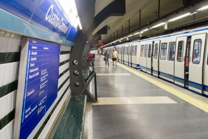 Metro reformará la estación de Cuatro Caminos en octubre