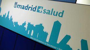 Logotipo de Madrid Salud.