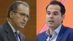 Enrique Ossorio (Partido Popular) e Ignacio Aguado (Ciudadanos)