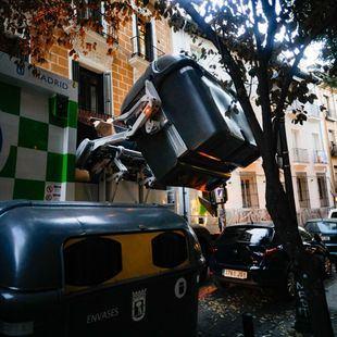 Madrid, sin inspectores para controlar la recogida de basuras de madrugada
