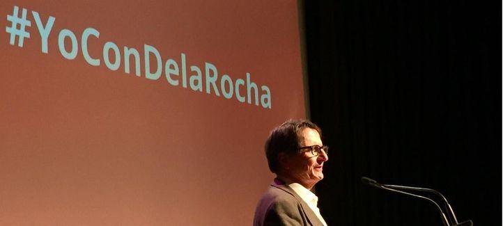 Bono, Barranco y Cándido Méndez arropan a De la Rocha