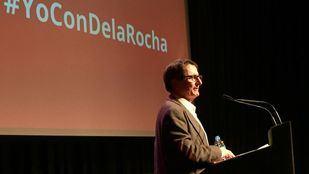 Manuel de la Rocha, en un acto de presentación en el Círculo de Bellas Artes