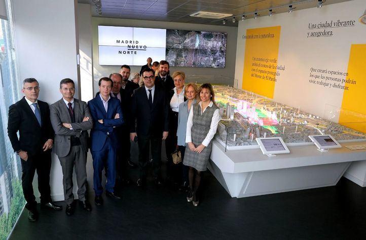 CEIM visita la exposición de Madrid Nuevo Norte