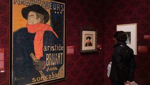 Litografía de Aristide Bruant de Toulouse-Lautrec.