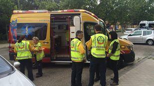 Muere un hombre, atropellado por un autobús de la EMT