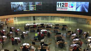 Oficina del 112 Emergencias de la Comunidad de Madrid.