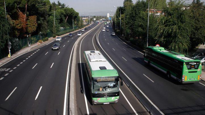 La avería de un interurbano colapsa el Bus VAO de la A-6