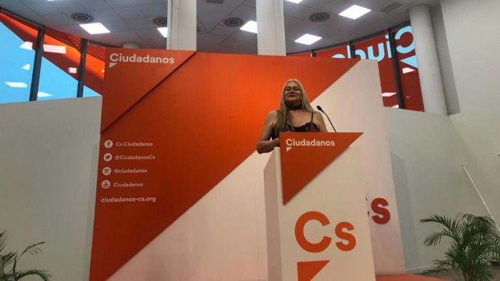 Gigi Sevilla, candidata a las primarias de Ciudadanos a la Comunidad de Madrid.