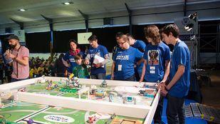 Celebración de una de las ediciones del Torneo First Lego League.