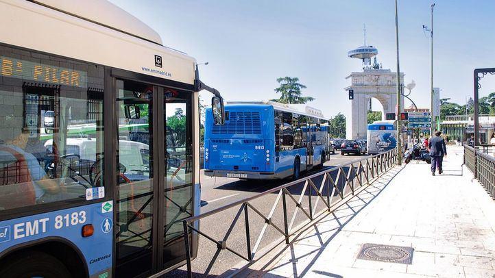 La EMT amplía este lunes tres de sus líneas a Aravaca, Ifema y Fundación Jiménez Díaz