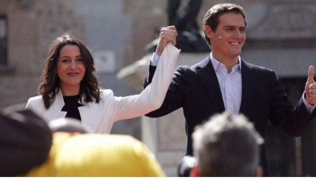 Arrimadas y Rivera.