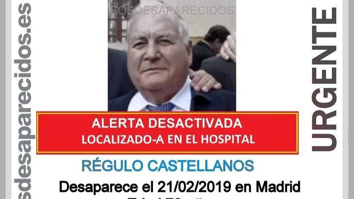 El desaparecido ya ha sido localizado.