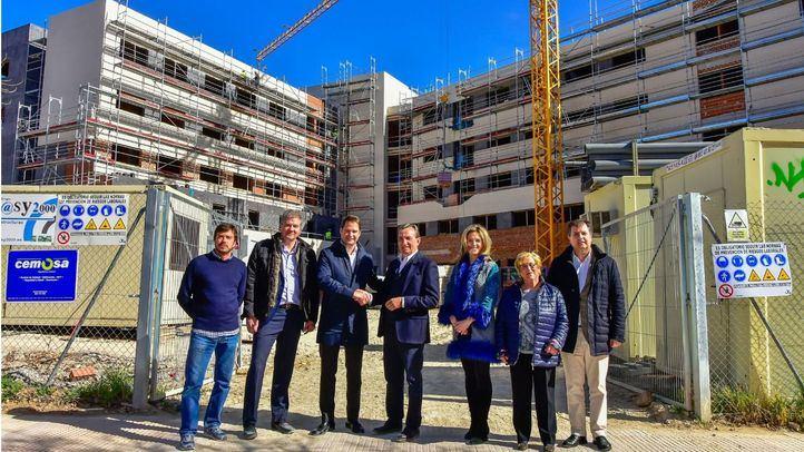 Muy avanzadas las obras del futuro Centro Residencial y de Día para Personas Mayores