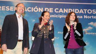 Presentación de los candidatos del PP en la zona norte de Madrid.