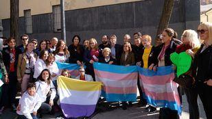 Inauguración de la Plaza de la Memoria Trans