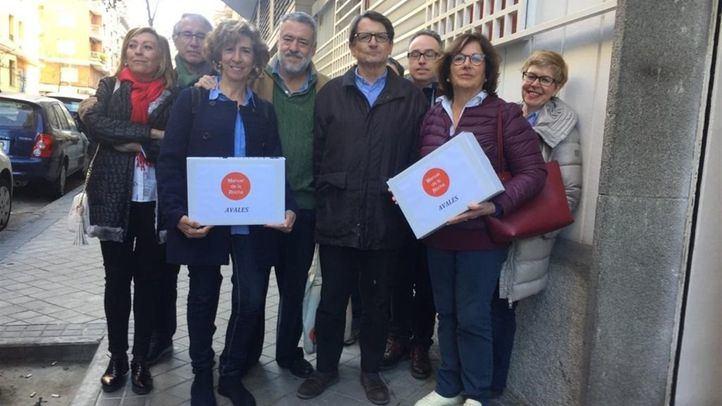 El equipo de Manuel de la Rocha ya ha presentado sus avales para las primarias del PSOE al Ayuntamiento de Madrid