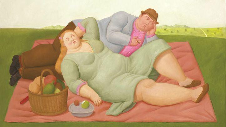 'Picnic', uno de los cuadros de Fernando Botero.