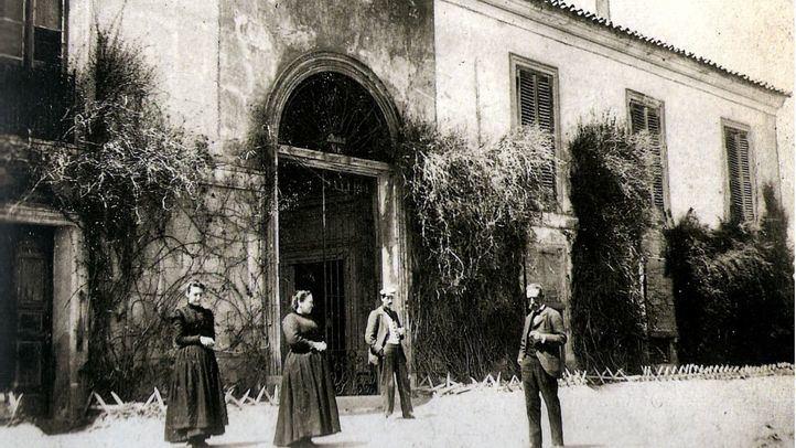 Aspecto de la Quinta del Sordo hacia 1900, transformada por los herederos de Goya