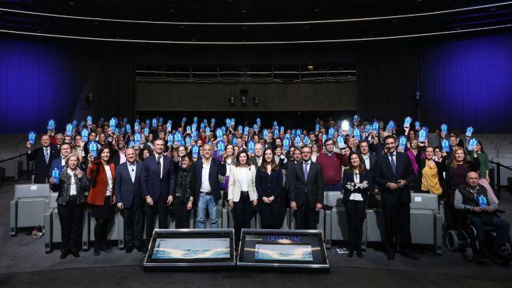 Entrega de los premios a las a los 50 proyectos de Territorios Solidarios en Madrid.
