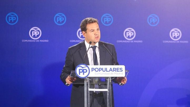 José de la Uz, candidato del PP en Las Rozas y Mirina Cortés en Móstoles