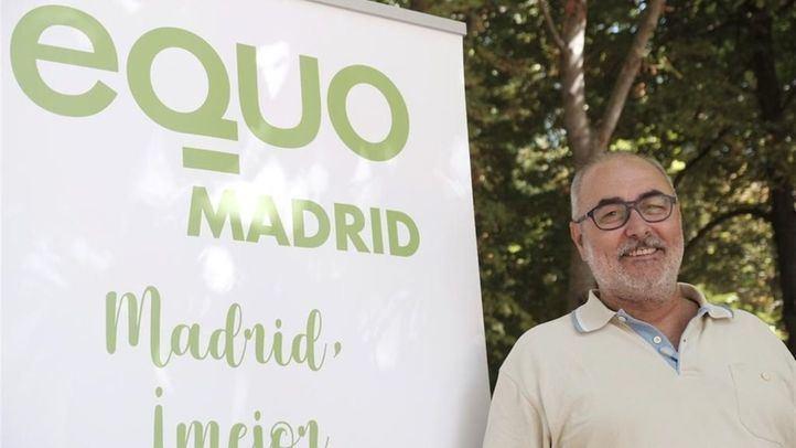 Alejandro Sánchez, cabeza de lista de candidatos para las elecciones de 2019.