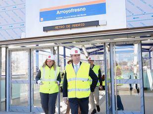 La estación de Arroyofresno abre el 23 de marzo