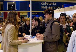 Feria del empleo.