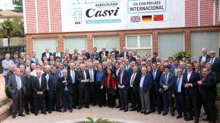 El tejido empresarial segoviano se reúne en el colegio Casvi