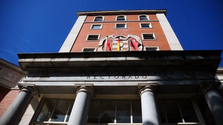 El rectorado de la Universidad Complutense de Madrid.