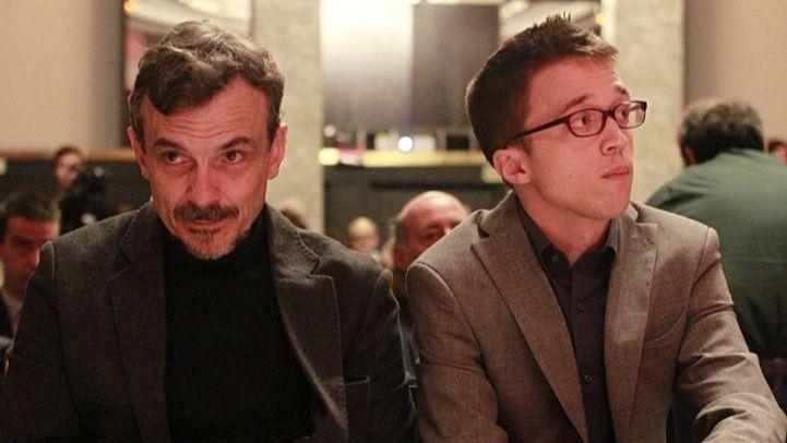 El exportavoz de Podemos José Manuel López e Íñigo Errejón, en una imagen de archivo.