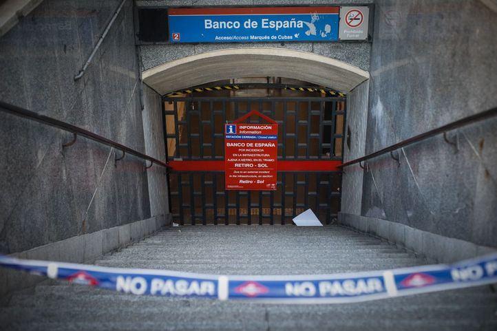 El tramo de la L2 de Metro afectado por las obras de Canalejas reabrirá en mayo