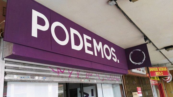 Sede de Podemos en Coslada.