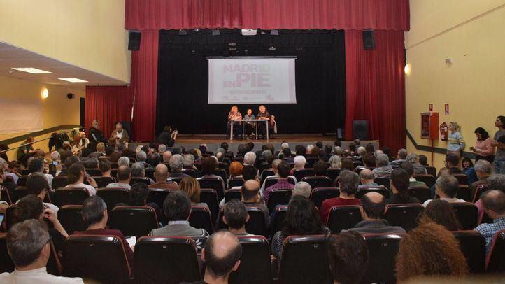 Jornada 'Madrid en pie' de IU, Anticapitalistas y Bancada Municipal