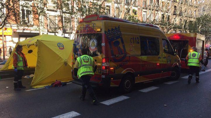 Un hombre, herido grave tras ser atropellado en la Avenida Ciudad de Barcelona