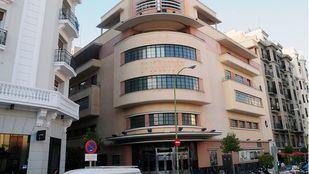 Edificio donde estuvo la discoteca Pachá en Barceló