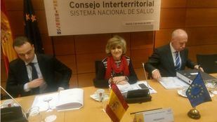 La Ministra de Sanidad, Maria Luisa Carcedo, preside el Consejo Interterritorial del Sistema Nacional de Salud (CISNS)