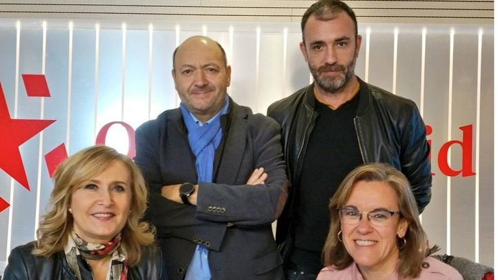 Purificación Causapié, portavoz del PSOE en el Ayuntamiento de Madrid, y Nacho Murgui, Delegado de Coordinación Territorial y Cooperación Público-Social, segundo teniente de Alcalde