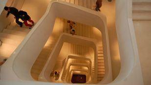 Escaleras del CaixaForum.