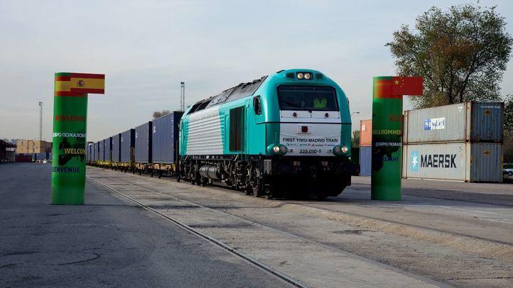 Tren Madrid-Yiwu