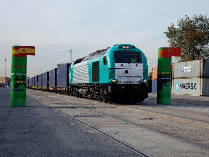 Tren Madrid-Yiwu: la línea de ferrocarril más larga del mundo
