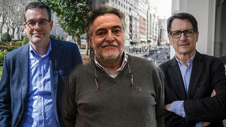 Friso de los candidatos a las primarias del PSOE a la alcaldía de Madrid