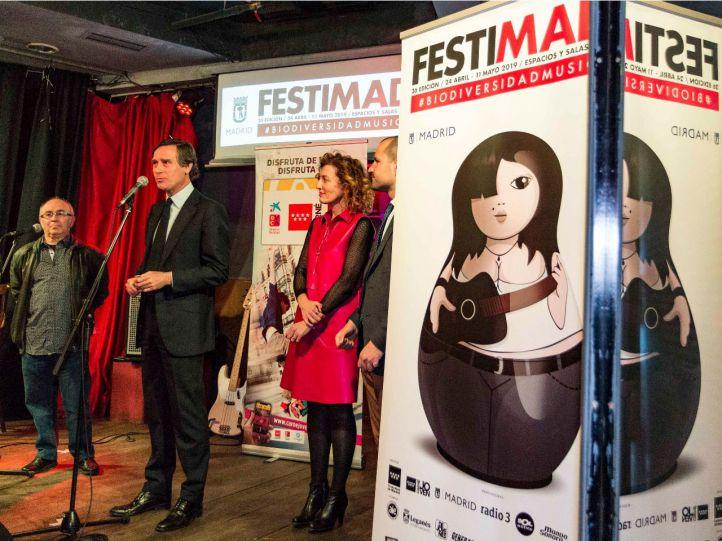 Bandas madrileñas emergentes se citan en el Festimad2M