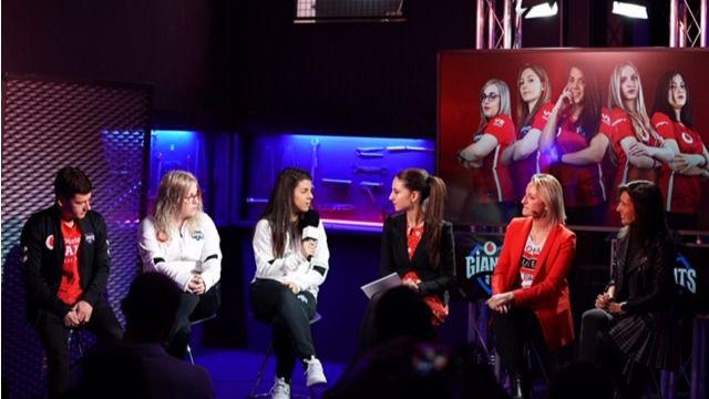 Vodafone Giants, un equipo profesional formado íntegramente por mujeres