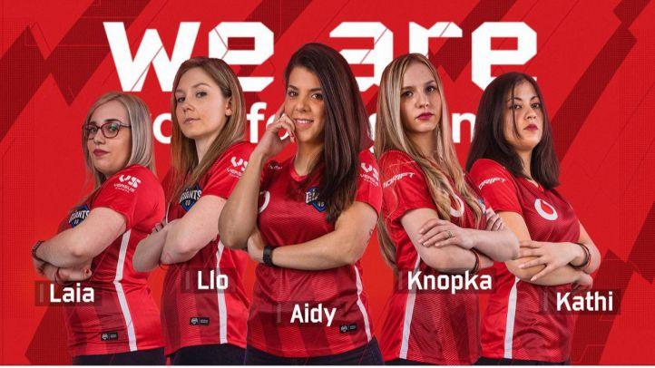 Presentación del equipo Vodafone Giants.